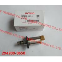 China DENSO 294200-0650 / 294200 0650 / 2942000650 genuine Fuel Pressure Regulator / suction valve SCV 294200-0650 on sale