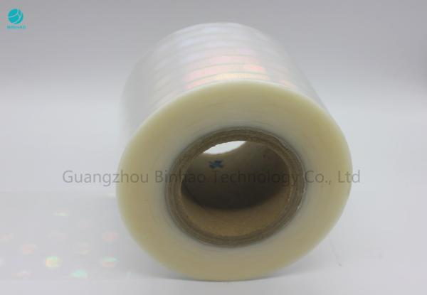 Quality Thermal Shrinkage Bopp Film Roll High Impact Strength For Cigarette Box Sealing for sale