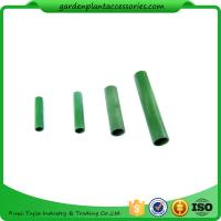 China Green Bamboo Trellises Garden Cane Connectors Match With Garden Stakes 10pcs/pack Garden Stakes Connectors wholesale