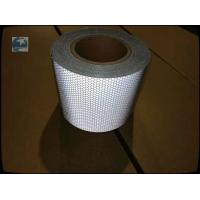 China Sign High Intensity Reflective Sheeting , White Reflective Film Plastic Backing 10CM X 45.7M wholesale