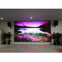 China 1R1G1B Full Color Indoor Led Display Small Pixel P2.5 HD DC 5V For Conference wholesale