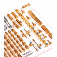 China Gold Color CMM Fixture Kits / Coordinates Measurement Machine For Electronics Industry on sale