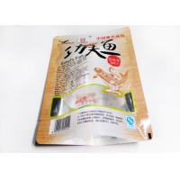 China Simple Laminated Snack Packaging Bags With Window OPP / PET / CPP Material wholesale
