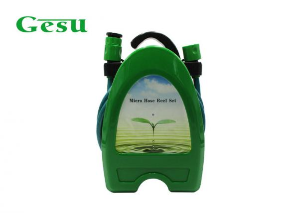Quality Commercial Water Hose Reel & Nozzle Set For Garden And Patio Watering for sale