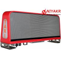 China Programmable Taxi Roof LED Display Mobile Advertising LED Taxi Sign Double Sides on sale