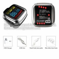 China 18 Holes 650nm Low Intensity Laser Therapy Machine Wrist Watch For Diabetes Rhinitis Blood Pressure on sale