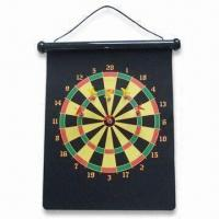 China Safe Dart Board, Available in Various Colors, OEM Orders are Welcome wholesale