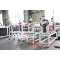 China Automatic Plastic Roof Sheet Machine With Conical Double Screw Extruder 55kw / 110kw wholesale
