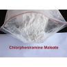 China Maleate de Chlorpheniramine pharmaceutique d'antihistaminique de matières premières d'effet fort wholesale