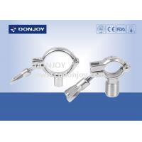 China SS304 heavy duty clamp pipe holder / tc clamp / pipe with Thread or Bar wholesale
