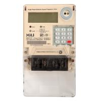 China Single Phase Two Wire Prepayment Power Energy Meter / KWH Meters with Integrated Keypad on sale