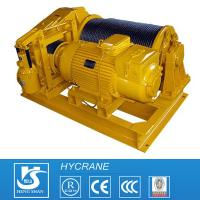 China Single Drum Open/Closed Gearing Wire Rope Crane Electric Winch Customized Design wholesale