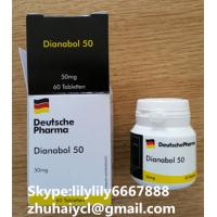 China White Injectable Anabolic Steroids Oral Dianabol Metandienone CAS 72-63-9 wholesale