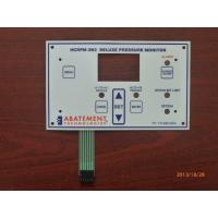 China White Tactile Metal Dome Membrane Switch With Double Sided Tape And 3M Adhesive on sale