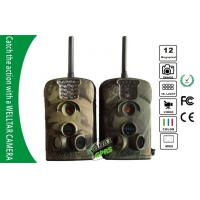 China SMS MMS Forest Deer Hunting Camera , Black IR Motion Detection Wild Camera wholesale