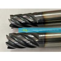 China Customized And OEM Cemented Solid Carbide End Mills / Four Flute End Mill on sale