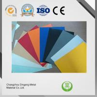 China ASTM Standard Pre Painted Aluminium For Ceiling / Roofing / Window Shade wholesale