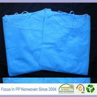 China Nonwoven fabric for hospital gown and fabric for surgery clothing wholesale