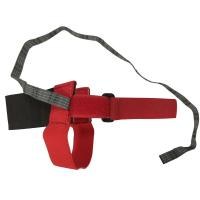 Buy cheap Anti static Heel Straps Bright Red Ribbon with Hook and Loop Fastener from wholesalers