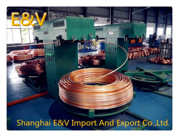 Quality PLC Control Small Continuous Casting Equipment  For Melting Copper Scrap for sale