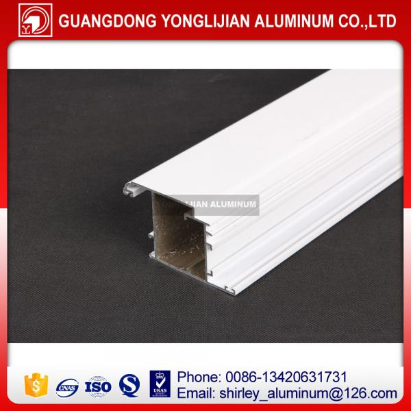 Quality Foshan manufacturing powder coted aluminum extrusion profile for window and door for sale