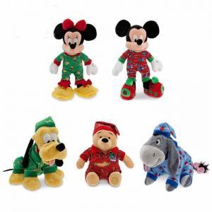 China Cute Sleepwear Disney Stuffed Toys Christmas Holiday Promotion Red Blue wholesale