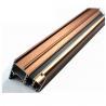 China 6063 U Shaped Aluminium Profile , Mechanically Polished Aluminium Corner Profile Joint wholesale