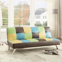 China Colorful Fold Up Sleeping Sofa Bed Office , Living Room Hideaway Bed Couch22kg wholesale