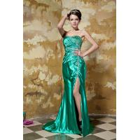 China Green Sweetheart Strapless Mermaid Evening Dresses Lang Prom Gowns 2013 With Beads wholesale