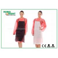 China Medical Nonwoven Disposable Aprons for Hospital Food Processing / One Time Use PP Aprons wholesale