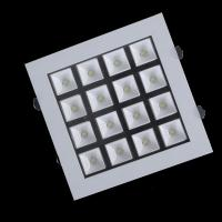 China LED square recessed down lighting with led diver 16w  super bright cree  LED office light on sale