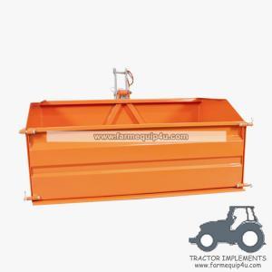 5TTBX - Farm equipment tractor 3point hitch tipper transport box,link box 5ft