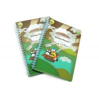 China PP Cover Memo Pad Custom Spiral Notebooks With A6 / A5 / A4 Lined Paper wholesale