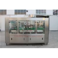 China 1000ML Glass Bottle Filling Machine With Electric Square Glass Jars Capping wholesale