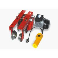 China Mini Electric Hoist vehicle engine works by running on the down edge H shaped track wholesale