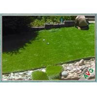 Buy cheap Natural Soft Feeling Garden Artificial Grass , Fire Resistance Garden Turf from wholesalers