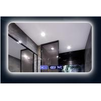 Buy cheap Intelligent non-frame bathroom mirror Bluetooth hotel toilet mirror customized touch switch led light mirror from wholesalers