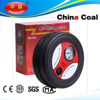 China Tire shape car air compressor with CE&ROHS certification wholesale