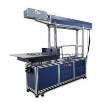 China S-500 500*500mm large format CO2 glass tube laser marking machine for Jeans leather wholesale