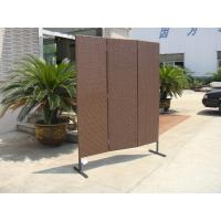 Outdoor Rattan Furniture Fence For Poolside / Lawn / Riverside