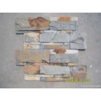 China Slate Stone Veneer Tile, Yellow Slate Leger Slabs on sale