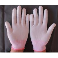 China working glove finger protectors with pu coated on sale