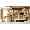 China 18mm MFC Borad Complete Kitchen Cabinets / Modern Kitchen Cabinets E1 wholesale