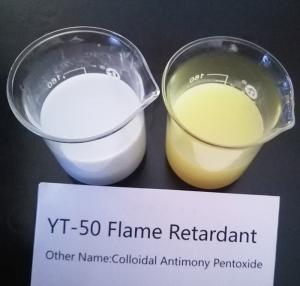 China Nano Grade Flame Retardant Agent Colloidal Antimony Pentoxide For  fire retardants wholesale