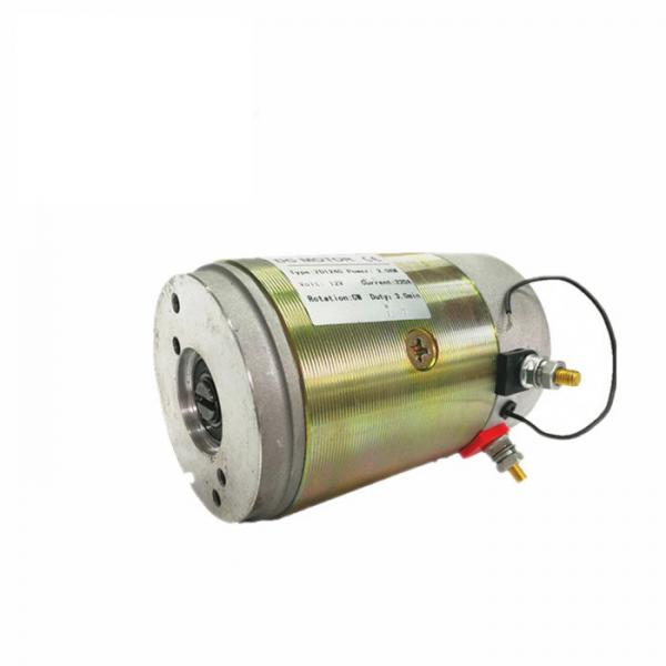 Quality 2.2KW Hydraulic DC Motor , Vechicle Tailgate Lift 24V DC Motor For Hydraulic Power Unit for sale