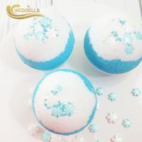 China Private Label Custom Natural Fizzy Kids Bath Hemp Bomb With Toys Sphere Shape wholesale