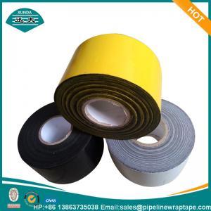 Buy cheap Cinta de acero similar PE de la capa de la protección contra la corrosión de la tubería de Polyken que apoya la goma butílica from wholesalers