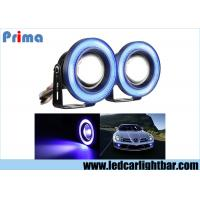 China 3.5 Inch Projector Led Fog Lights , Halo Angel Eye Rings Car Fog Lamps wholesale