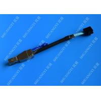 China Externo atado serial negro HD mini SAS SFF-8643 del cable de 0,3 M SCSI al cable SFF-8644 wholesale