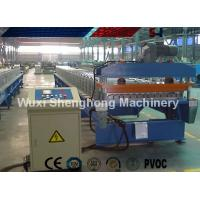 China Finished Steel Roof Tile Roll Forming Machine 25 M / Min High Production Capacity wholesale